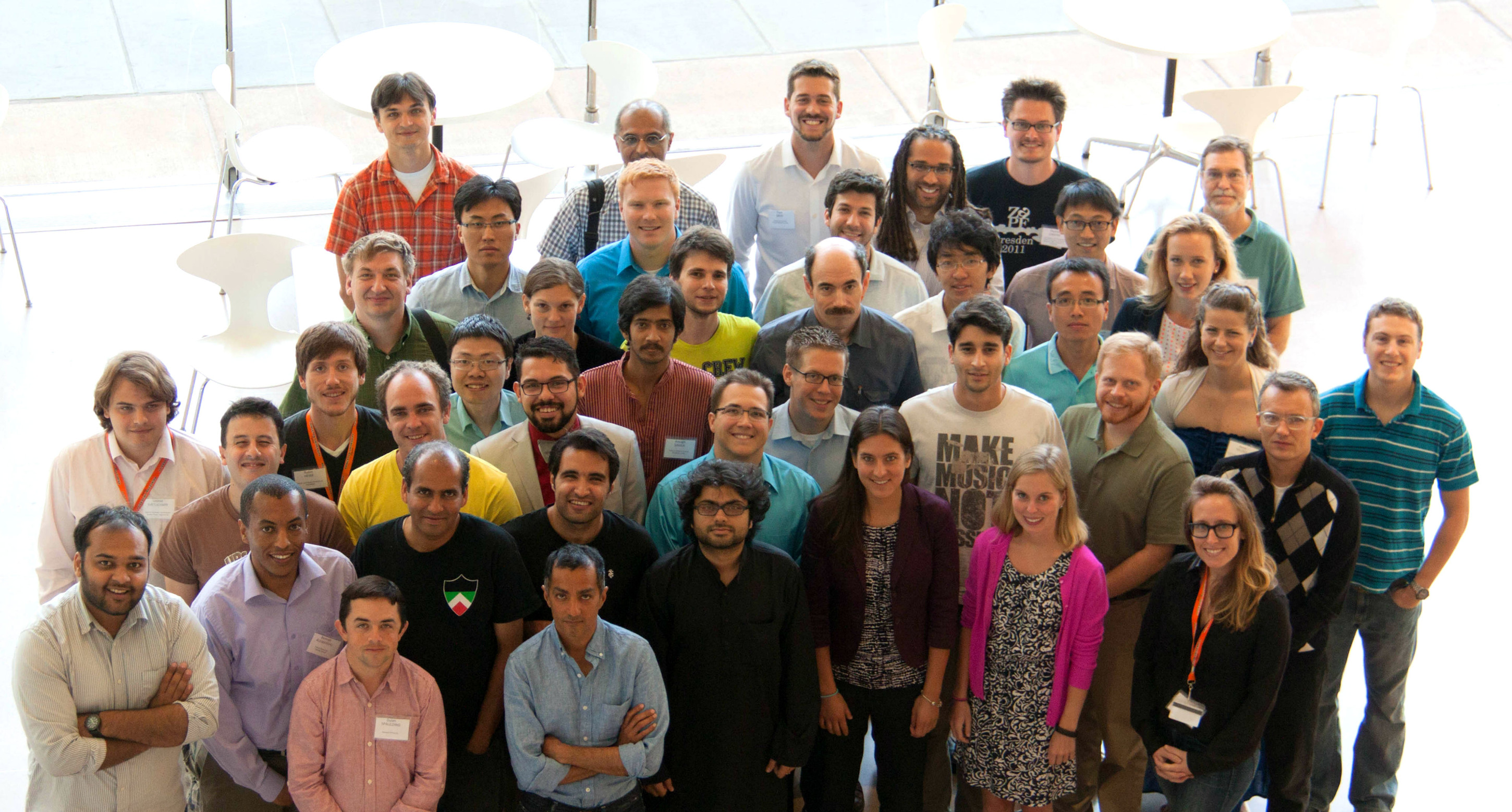 Participants from the 2014 UCS Summer Symposium on Science and World Affairs